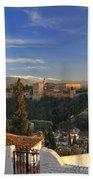 La Alhambra Granada Spain Beach Towel