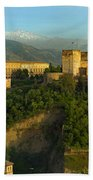 La Alhambra Palace Beach Towel