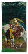 La Bella Dame Sans Merci Beach Towel