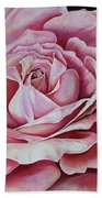 La Bella Rosa Beach Towel