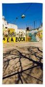 La Boca Graffiti Beach Towel