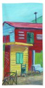 La Boca Morning I Beach Towel