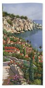 La Costa Beach Towel by Guido Borelli