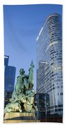 La Defense Memorial Beach Towel