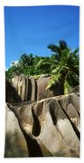La Digue Island - Seychelles Beach Towel