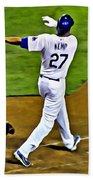 La Dodgers Matt Kemp Beach Towel