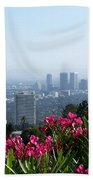 L.a. From Beverly Hills Beach Towel