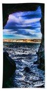 La Jolla Cave By Diana Sainz Beach Towel