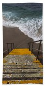 La Jolla Stairs 2 Beach Towel