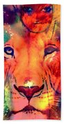 La Lionne Beach Towel