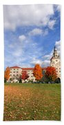 La Roche College On A Fall Day Beach Towel