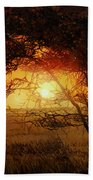 La Savana Al Tramonto Beach Towel