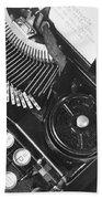 La Tecnica - The Typewriter Of Julio Beach Towel
