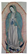 La Virgen De Guadalupe Beach Towel