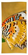 Lacewing Butterfly Cethosia Sp Beach Towel