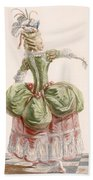 Ladies Evening Gown, Engraved By Dupin Beach Towel
