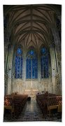 Lady Chapel At St Patrick's Catheral Beach Towel