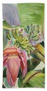 Lady Fingers - Banana Tree Beach Towel