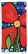 Lady In Red 2 - Buy Poppy Prints Online Beach Towel