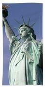 Lady Liberty 01 Beach Towel