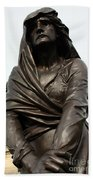 Lady Macbeth In Stratford Out Damned Spot  Beach Towel by Terri Waters