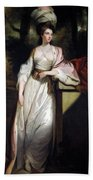 Lady Mary Isabella Somerset Beach Towel by Robert Smirke