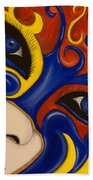 Lady Of Fire And Ice Beach Towel