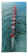 Lady Scullers Beach Towel