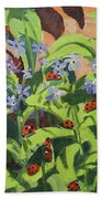 Ladybirds Beach Towel