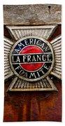 Lafrance Badge Beach Towel