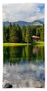 Lago Dei Caprioli - Roe Deer Lake Beach Towel
