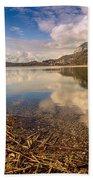Lago Di Annone Beach Towel