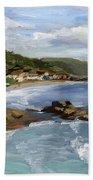 Laguna Beach Beach Towel by Alice Leggett