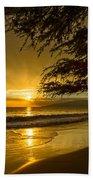 Lahaina Sun Burst Beach Towel