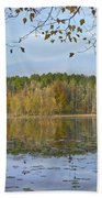 Lake Bailey Petit Jean State Park Beach Towel