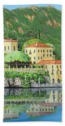 Lake Como Morning Beach Towel