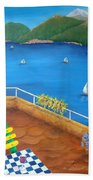 Lake Como Beach Towel