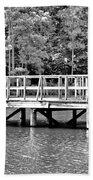 Lake Greenwood Pier Beach Towel