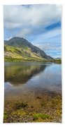 Lake Idwal Beach Towel
