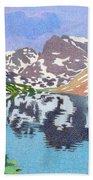 Lake Isabelle Colorado Beach Towel