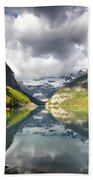 Lake Louise Banff National Park Beach Towel