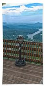Lake Lure Overlook Beach Towel