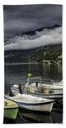 Lake Maggiore Ascona Beach Towel