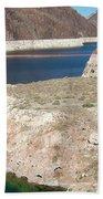 Lake Mead In 2000 Beach Towel