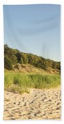 Lake Michigan Dunes 02 Beach Towel