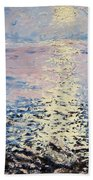 Lake Michigan Sunrise Beach Towel