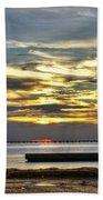 Lake Pontchartrain Sunset 2 Beach Towel