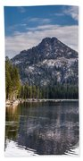 Lake Reflection Beach Towel