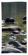 Lake Rocks Beach Towel