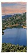 Lake Sonoma - California Beach Towel